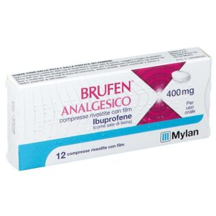 Brufen Analgesico 400 mg 12 Compresse Rivestite