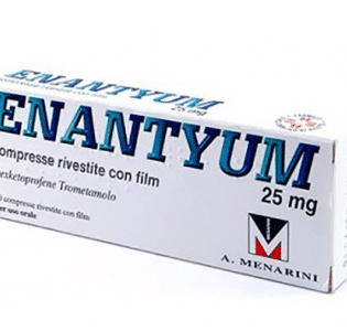 Enantyum 25 mg 20 Compresse Rivestite